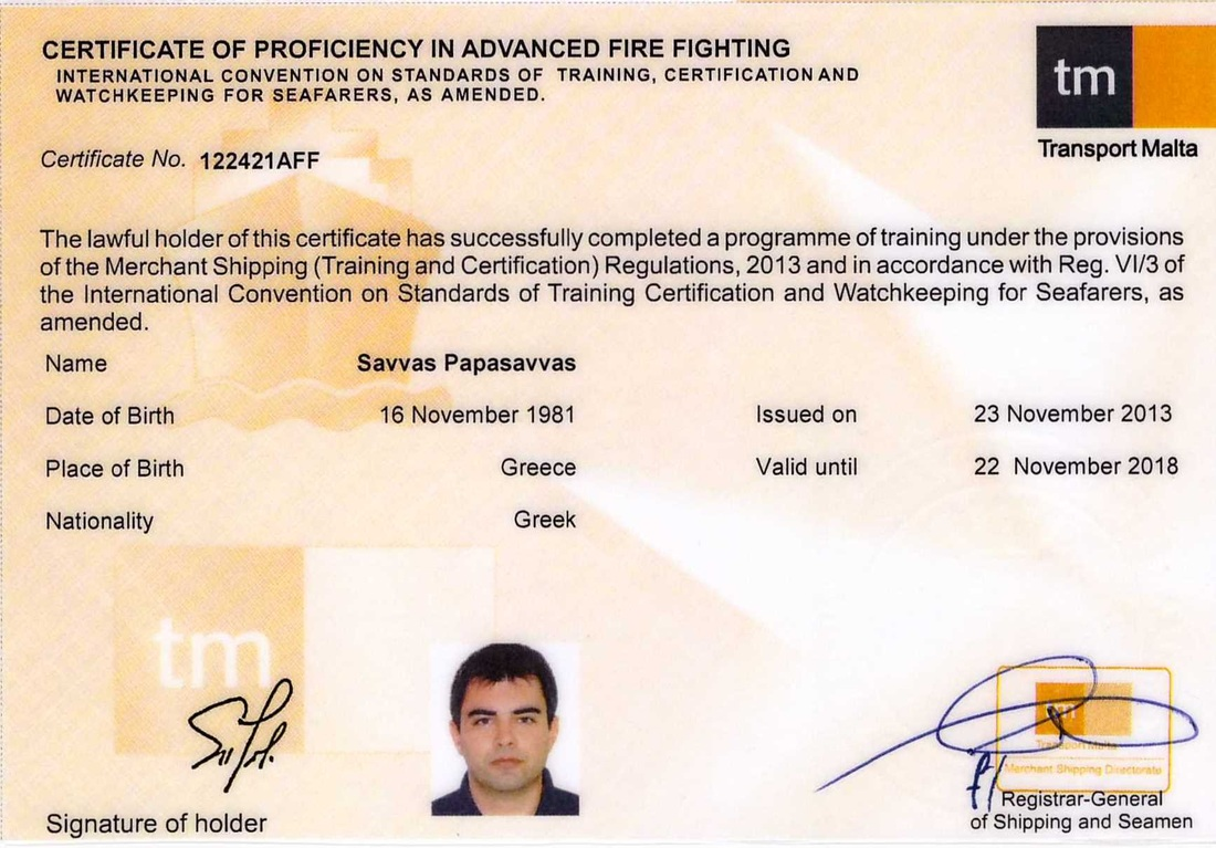 stcw certifications my professional portfolio